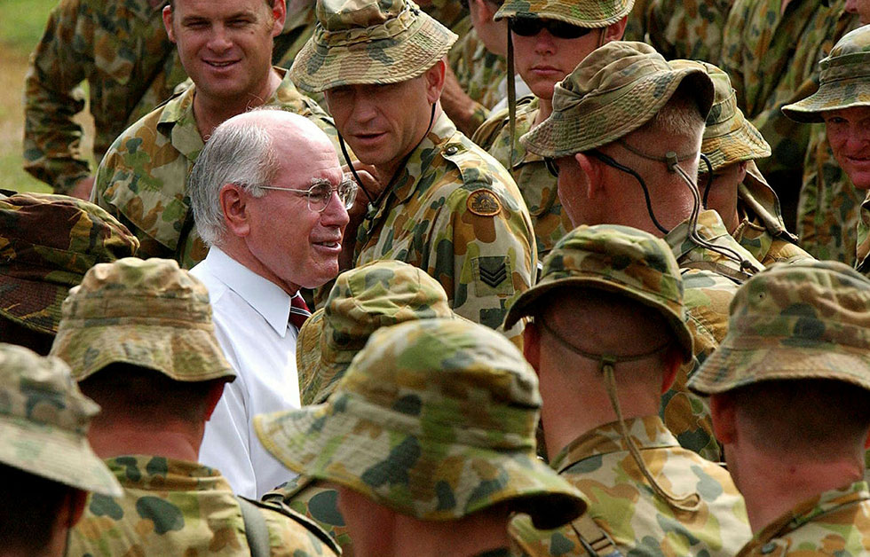 Commitment of Australian forces to Iraq