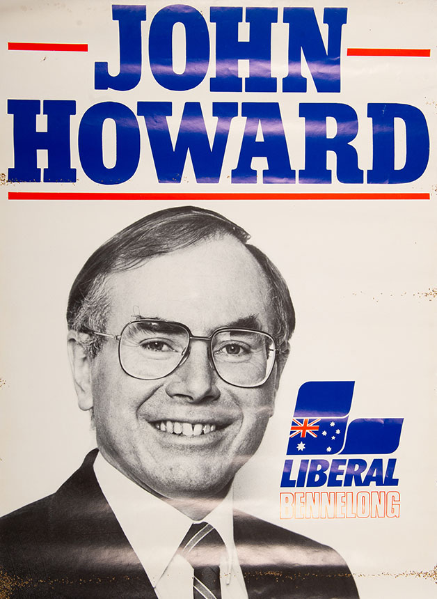 John Howard Liberal for Bennelong